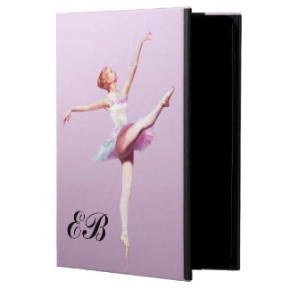 Ballerina in Pink and Lavender, Monogram Powis iPad Air 2 Case