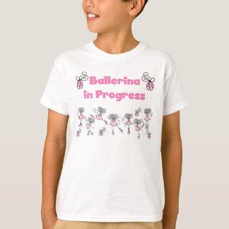 Ballerina in Progress Tshirt