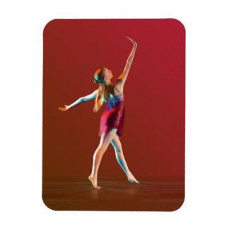 Ballerina in Red Magnet