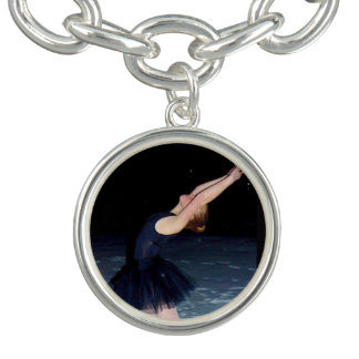 Ballerina in the Snow - Charm Bracelets