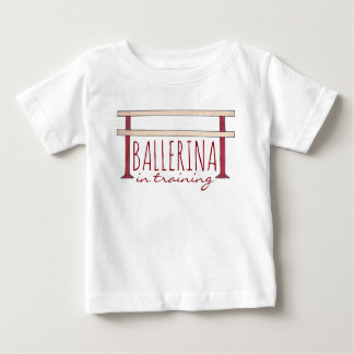 Ballerina in Training Ballet Barre Dance Dancer Baby T-Shirt