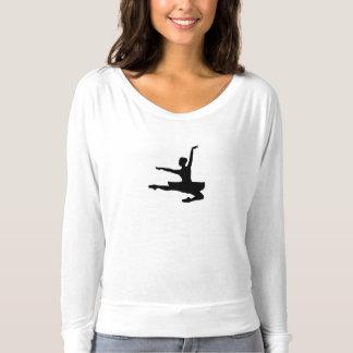 BALLERINA JETÉ (ballet dancer silhouette) ~ T-shirt