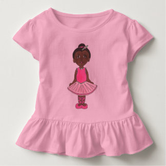 Ballerina Little Ballet Dancer Pink Tutu Dance Toddler T-shirt