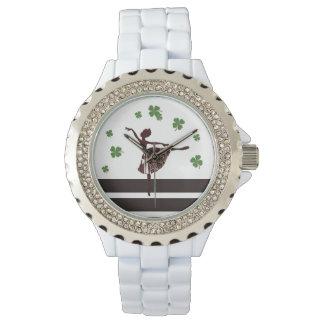 Ballerina Lucky leaf monogram Watch