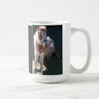Ballerina Miniature trick horse Cherry Coffee Mug