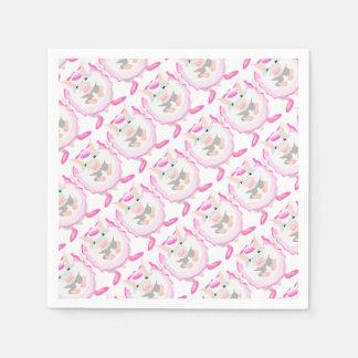 ballerina mouse disposable napkins