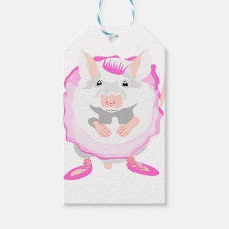 ballerina mouse gift tags