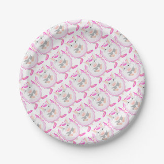 ballerina mouse paper plate