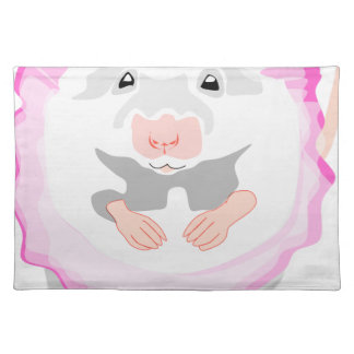 ballerina mouse placemat