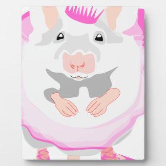 ballerina mouse plaque