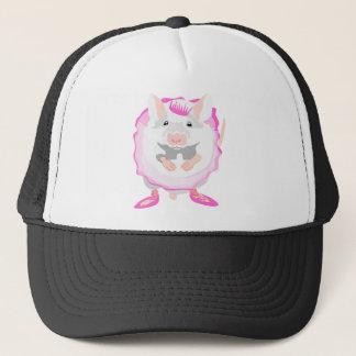 ballerina mouse trucker hat