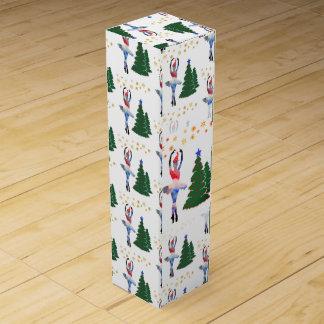 Ballerina New Year Wine Gift Box