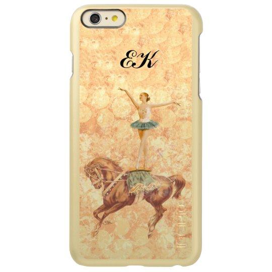 Ballerina on Horseback, Monogram