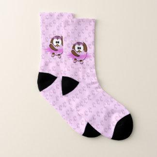 ballerina owl - socks 1