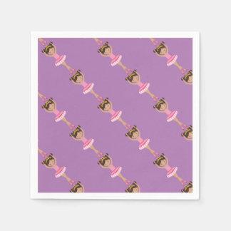 Ballerina Paper Napkins