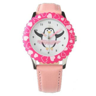 Ballerina Penguin Watch