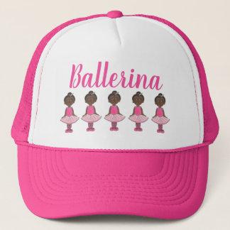 Ballerina Pink Tutu Dance Recital Ballet Dancer Trucker Hat