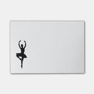 Ballerina Post-it Notes
