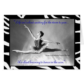 Ballerina Rachel Phillips Card