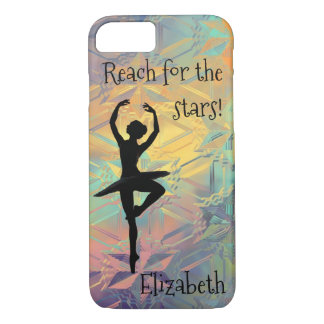 Ballerina Reach for the Stars iPhone 8/7 Case