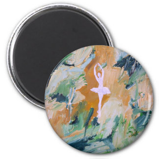 ballerina - September 2 ,2012.JPG 2 Inch Round Magnet