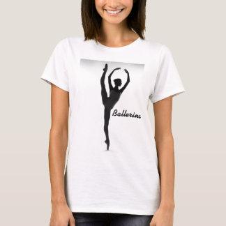 Ballerina Silhouette    T-Shirt