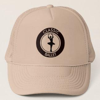 Ballerina Silhouette Trucker Hat