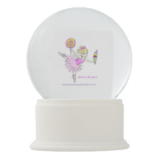Ballerina snow globe be customized with name