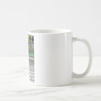 Ballerina Sock Monkey Classic White Coffee Mug