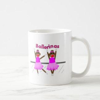 Ballerina Sock Monkeys--Adorable Design Mugs