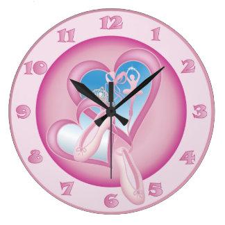 Ballerina Sweetheart - Ballet Clock