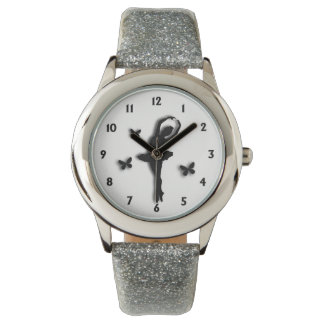 Ballerina White Wrist Watch