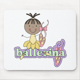 Ballerina - Yellow T-shirts and Gifts Mouse Pad