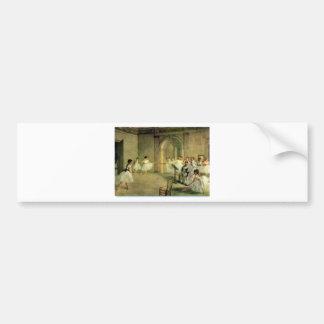 Ballerinas by Edgar Degas Bumper Sticker
