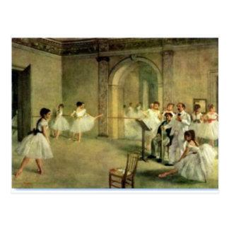 Ballerinas by Edgar Degas Postcard