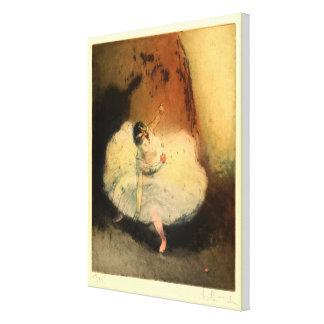 Ballerinas II (Danseuse) Canvas Print