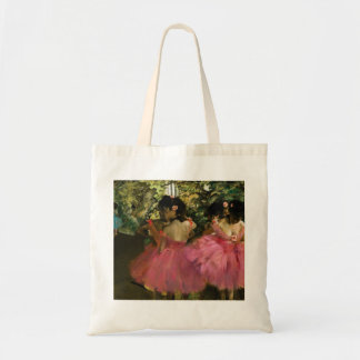 Ballerinas in Pink by Edgar Degas Tote Bag