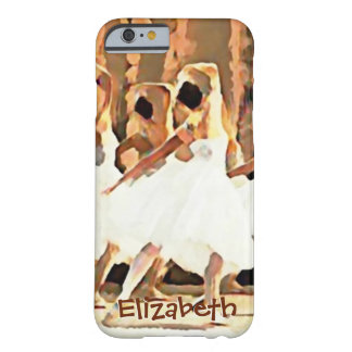 Ballerinas On Stage Ballet Custom Barely There iPhone 6 Case