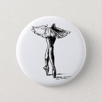 Ballet 2 Inch Round Button