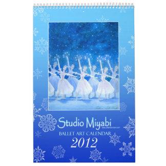 Ballet Art Calendar 2012