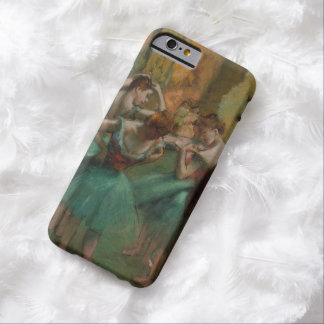 Ballet Artwork Dancers Pink and Green Edgar Degas Barely There iPhone 6 Case
