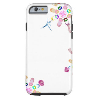 Ballet Assorted Floral Lucky Chain Tough iPhone 6 Case