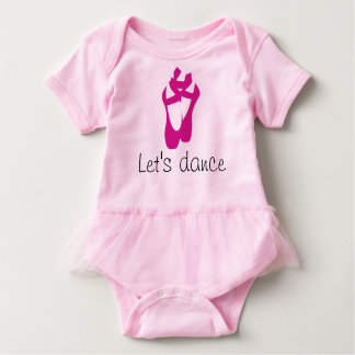 Ballet Baby Let's Dance Baby Bodysuit