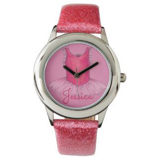 Ballet Ballerina Dance Tutu Personalized Watch