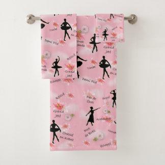 Ballet Bath Towel Set