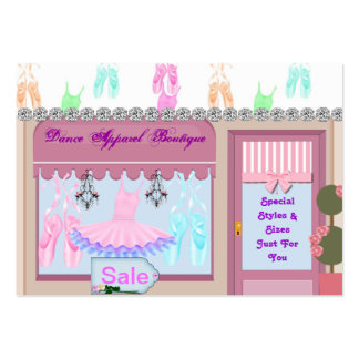 Ballet Bling Apparel Boutique Business Cards