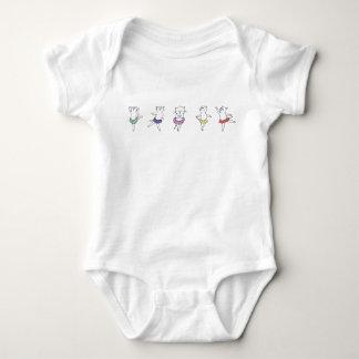 Ballet Class Jumper Baby Bodysuit