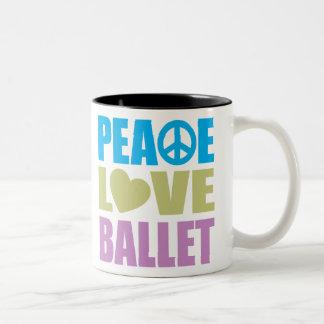 Ballet d'amour de paix mugs