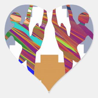 BALLET DANCE CLASS : Love my team Heart Sticker