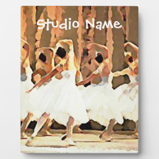 Ballet Dance On Stage Ballerinas Plaque